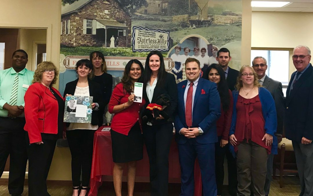 The Foundation received the Wells Fargo Community Grant at the Fairless Hills branch (photo)
